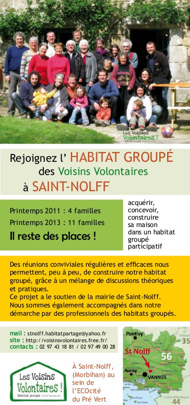 Poster Voisins Volontaires